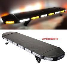 Used Ambulance Light Bar Amazon Com Lfhelper Bright Led Warning Light Amber White