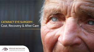 cataract eye surgery cost recovery