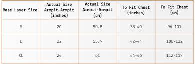 Ted Baker Size Chart Mens Icebreaker Size Guide Merino Golf Wear Golfposer Emag