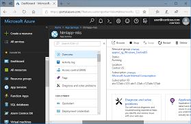 Create static HTML web app - Azure App Service | Microsoft Docs