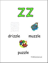 Reading and worksheets for phonics. Double Consonants Zz Poster I Abcteach Com Abcteach