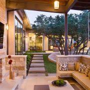 outdoor patios patio contemporary covered. decorating ideas for outdoor patios patio contemporary with neutral colors wallmount tv covered a