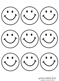 adjectives emoticon happy face coloring page free pages printable for kids size 1920 happy face coloring page emoticon free pages printable for kids on
