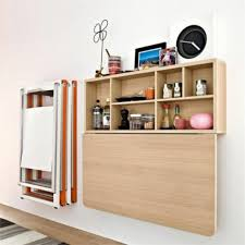 small home office space. Office Furniture Folding Desk Set Up Small Home Space