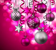 pink christmas decorations images - Google Search