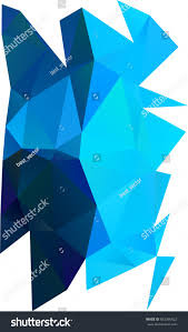 Light Blue Triangle Light Blue Triangle Mosaic Pattern Vague Backgrounds