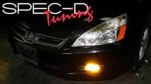 2008 Honda Accord Coupe Fog Light Kit Specdtuning Installation Video 2006 2007 Honda Accord 2 Door Coupe Fog Light Kit