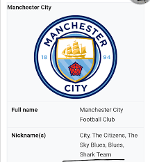 Shark Team is apparently an official nickname now (Wiki) : MCFC