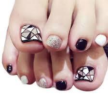 Details About X24 False Toe Nails French Full Toenails Feet Nails Art Fake Plastic Nails Box