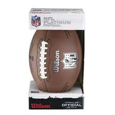 Composite Football Official Wilson - Size Nfl Platinum