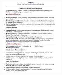 Product Consultant Resumes 30 Professional Marketing Resume Templates Pdf Doc