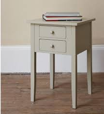 Metal Side Tables For Bedroom Round Black Nightand Having Pull Out Storage And Glass Table Top