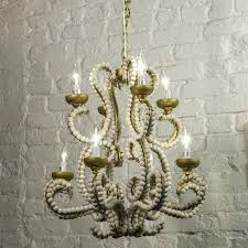 white bead chandelier beaded chandelier dining room chandeliers white chandelier wood bead chandeliers white wooden bead white bead chandelier