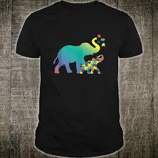 Autism Shirt Designs Autism Mom Design Autism Awareness Elephant Shirt