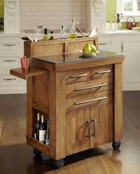 Small Kitchen Island Small Kitchen Cabinet On Wheels Kitchen Throughout Kitchen