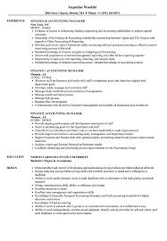 Example Of Finance Resume Senior Financial Accountant Cv Sample Resume Australia Assistant 59