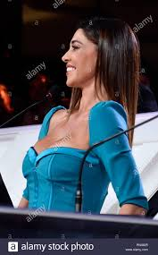 Sanremo, Italy. 05th Feb, 2019. Sanremo Young 2019 in the picture: Belen  Rodriguez Credit: Independent Photo Agency/Alamy Live News Stock Photo -  Alamy