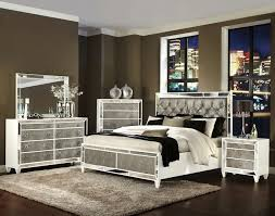 White Wood Bedroom Set On Bedroom Pertaining To Monroe Within Silver  Intended For Proportions 3570 X