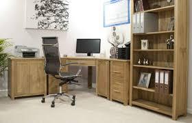 oak desks for home office. Warm Solid Oak Desks For Home Office Furniture Sets : Gorgeous Corner