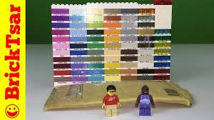 Lego Brick Colour Chart Lego Bricklink Haul 3001 A Brick Oddity 2x4 Brick Color