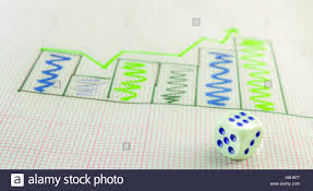 A Graph Paper Wit Fluctuated Histogram Which Has A Right Hand Peak