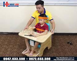 Bàn ghế tập ngồi vững cho trẻ bại não từ 1 tuổi đến 6 tuổi
