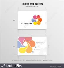 Illustration Of Abstract Creative Business Cards Design Template