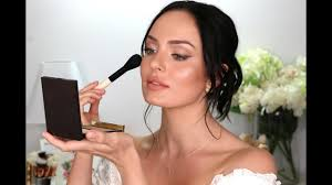 my wedding makeup a bridal tutorial chloe morello