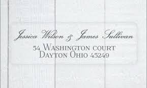 Avery Clear Labels For Wedding Invitations Also Beautiful Using