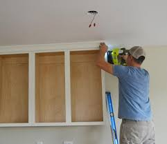 Adding Crown Molding To Kitchen Cabinets Interesting Decorating Design