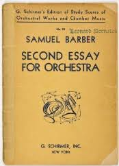 new york philharmonic scores > barber samuel document image