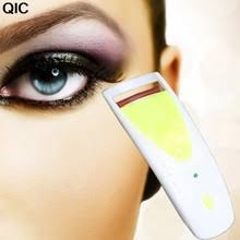 heated eyelash curler results. qic 1pc long lasting heated eyelash eye lashes curler electric makeup maquiagem results n