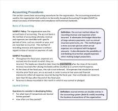 Accounting Manual Template Free Download Accounting Manual Template Free Download Password Policy Document