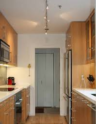 stunning inspiration ideas galley kitchen track lighting contemporary costs for