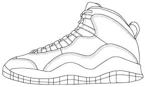 Jordan Shoes Coloring Pages Jordan Coloring Page Medium Size Of Book