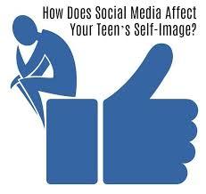 Teens facebook self image