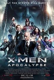 official poster shows the x men team with professor x sitting in his wheelchair