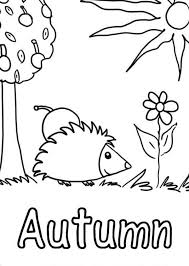 Small Picture Waiting for One Leaf to Fall in Autumn Coloring Pages Batch Coloring