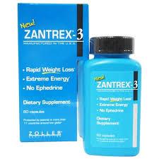 zantrex 3 advanced fat burner weight loss supplement 60 0