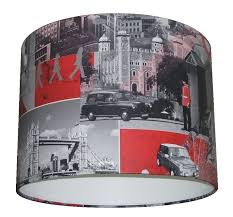 black and red lamp shade white blue the attractive color of 10