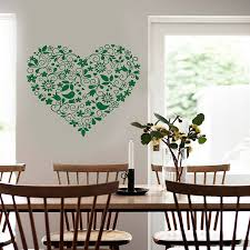 wall art heart designs fl design sticker by on wall art heart designs with wall art heart designs wall designs