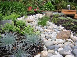 landscaping with 5 types of gravel stones