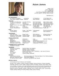 85 How To Write An Acting Resume Best 25 Acting Resume