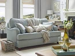 blue sofas living room duck egg blue