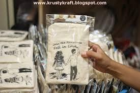 krusty kraft medium pouch for wedding souvenir