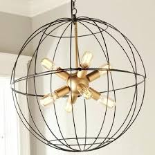 large metal orb large metal orb chandelier luxury young house love lighting collection shades of light large metal orb