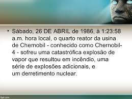 Resultado de imagem para usina de chernobyl