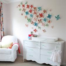 paper wall colorfuls handmade stars small room decorating ideas simple but eccentric