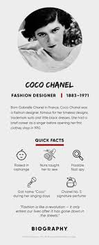 Fashion Designer Collection Names Coco Chanel Fashion Quotes Facts Biography
