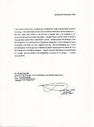 Recommendation Letter Format For Workshop Resume Examples